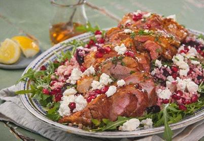 Salade d'agneau épicée