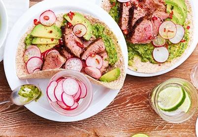 Tacos d'agneau